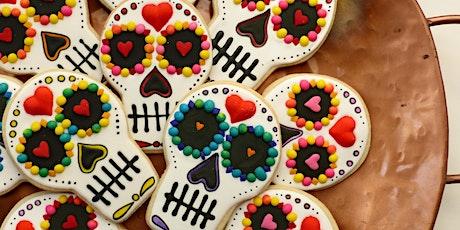 Sugar Skulls Dia de los Muertos Cookie Decorating Class for Adults tickets