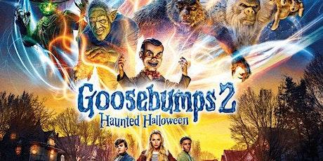 Frightfully Fun Movie & Magic Show feature  Goosebumps 2: Haunted Halloween tickets