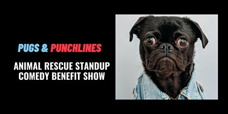 Pugs & Punchlines - Animal Rescue Benefit Standup Comedy Show tickets