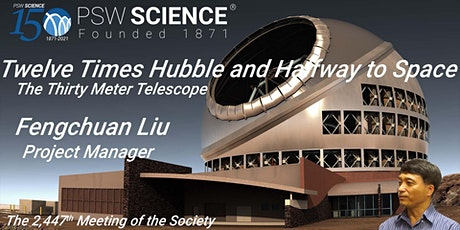 Twelve Times Hubble and Halfway to Space: The Thirty Meter Telescope tickets