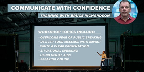 Communicate with Confidence tickets