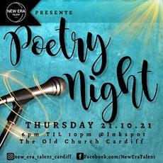 New Era Talent C.I.C Presents A Poetry Night tickets