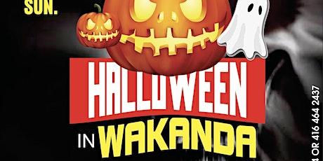 Halloween in Wakanda tickets