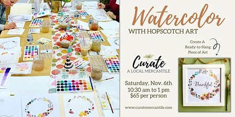 Watercolor Workshop With Hopscotch Art tickets