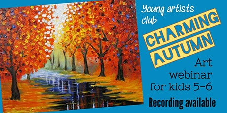 Young Artists Club - Online Art Webinar for 5-6 year olds tickets