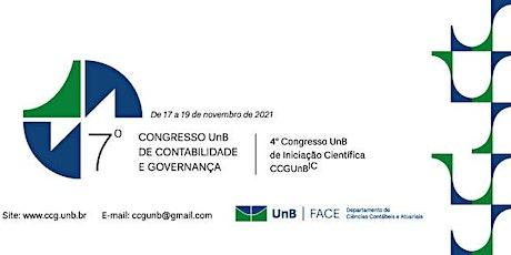 7º Congresso UnB de Contabilidade e Governança ingressos