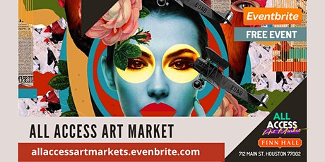 All Access Art Market: Finn Hall tickets