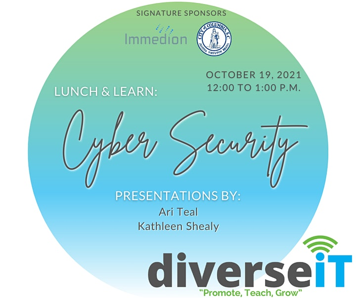 diverseIT - Lunch & Learn Series: Cyber Security image