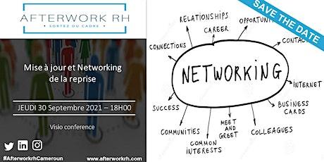 AfterWork RH Cameroun | Mise à jour et Networking de la reprise| Sept 2021 billets