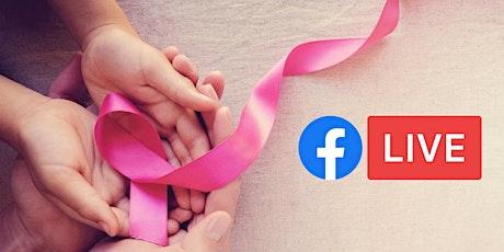 Facebook Live w/ Cancer Patient Navigators (Breast Cancer Month) tickets