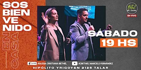 Reunión Presencial  -  Bethel Mi Casa - Sábado 25 / 09 - 19:00 hs entradas