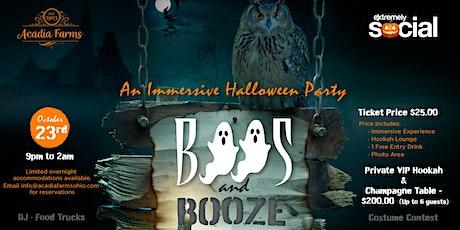 Boos & Booze  An Immersive Halloween Party tickets
