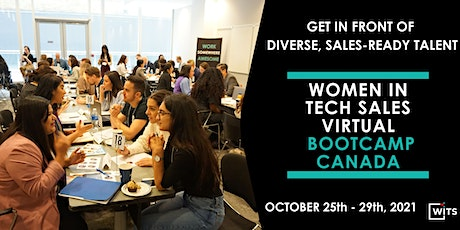Women in Tech Sales Bootcamp October 2021 - HIRING PARTNER PACKAGES tickets