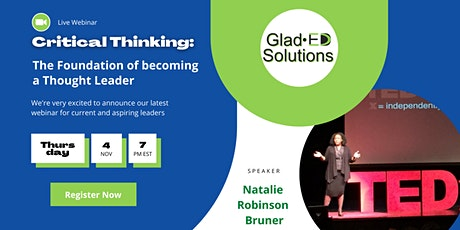 Critical Thinking: The Foundation of becoming a Thought Leader tickets