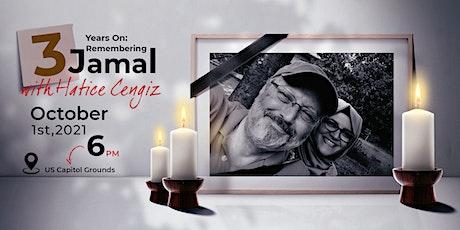 3 Years On: Remembering Jamal Khashoggi with Hatice Cengiz tickets