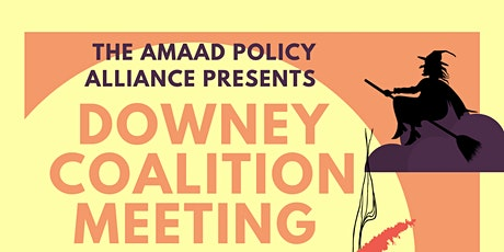 Downey Coalition Meeting tickets
