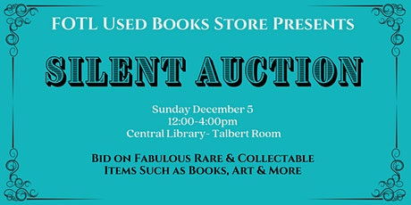 Silent Auction tickets