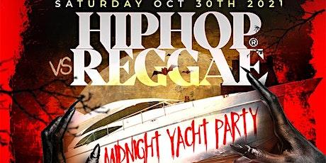 NY Hip Hop vs Reggae® Halloween Friday Midnight SkyportMarina Harmony Yacht tickets