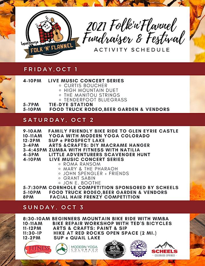 2021 Folk 'n' Flannel Festival & Fundraiser image