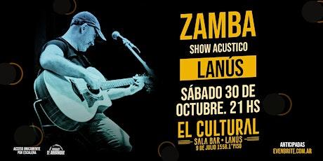 Zamba en Lanús entradas