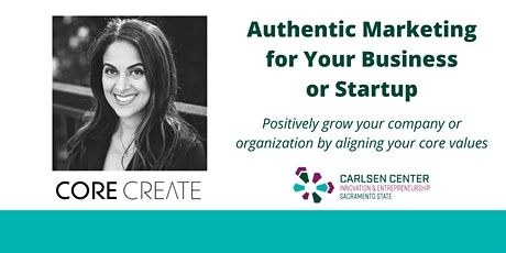 Authentic Marketing for Your Business or Startup tickets