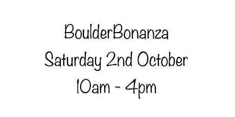 BoulderBonanza Saturday 2nd October tickets