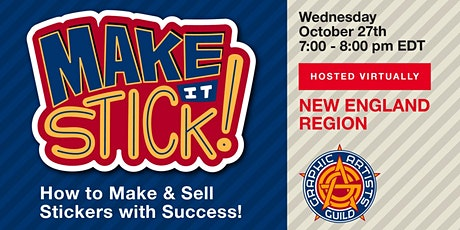 Make it Stick! How to Make & Sell Stickers with Success tickets