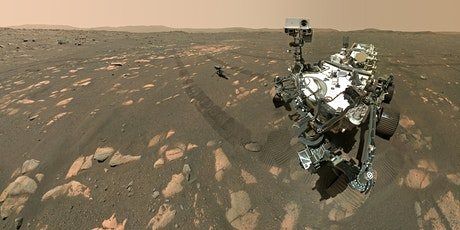 LSU Science Café—Life Beyond Earth: Mars Perseverance Rover Mission Update tickets