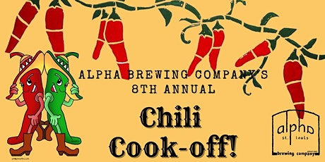 Alpha Brewing Company's Chili Cookoff tickets