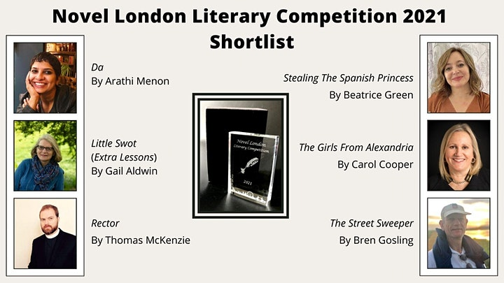 Novel London Literary Festival Session 4 - Competition Readings image