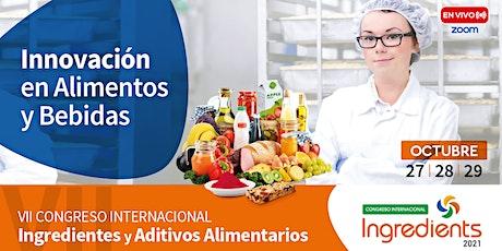 VII Congreso Internacional de Ingredientes ingressos