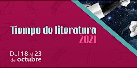 Tiempo de Literatura | Conversatorio: Cruce de poéticas boletos