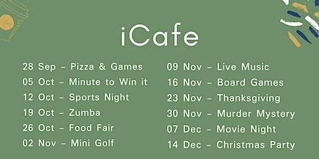 iCafe Belfast tickets