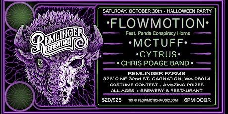 Flowmotion's Funkalicious Halloween Show tickets