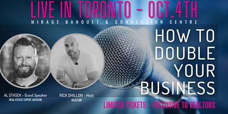 How To Double Your Real Estate Business tickets