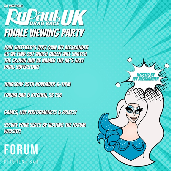 RuPaul's Drag Race UK Season 3: Finale Viewing Party with Ivy Alexxander! image