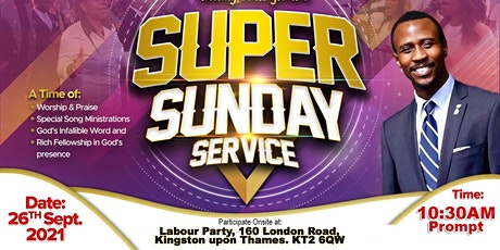 SUPER SUNDAY SERVICE tickets