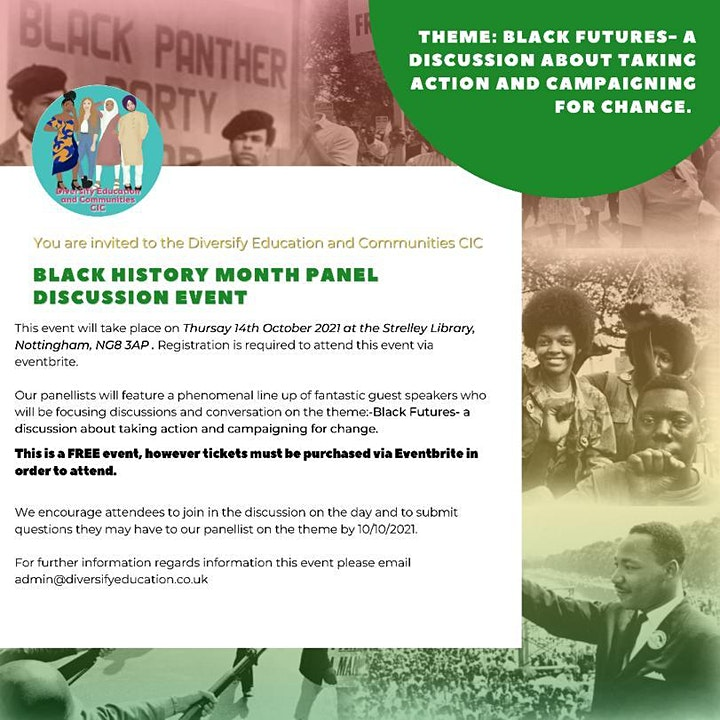 Black History Month Panel Discussion image
