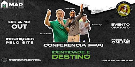 Conferência Pai - lote 2 ingressos