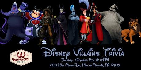 Disney Villains Trivia at Workhorse Brewing Company KOP tickets