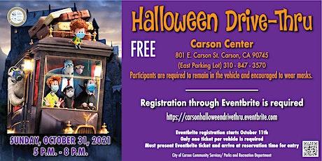 City of Carson Halloween Drive-Thru tickets
