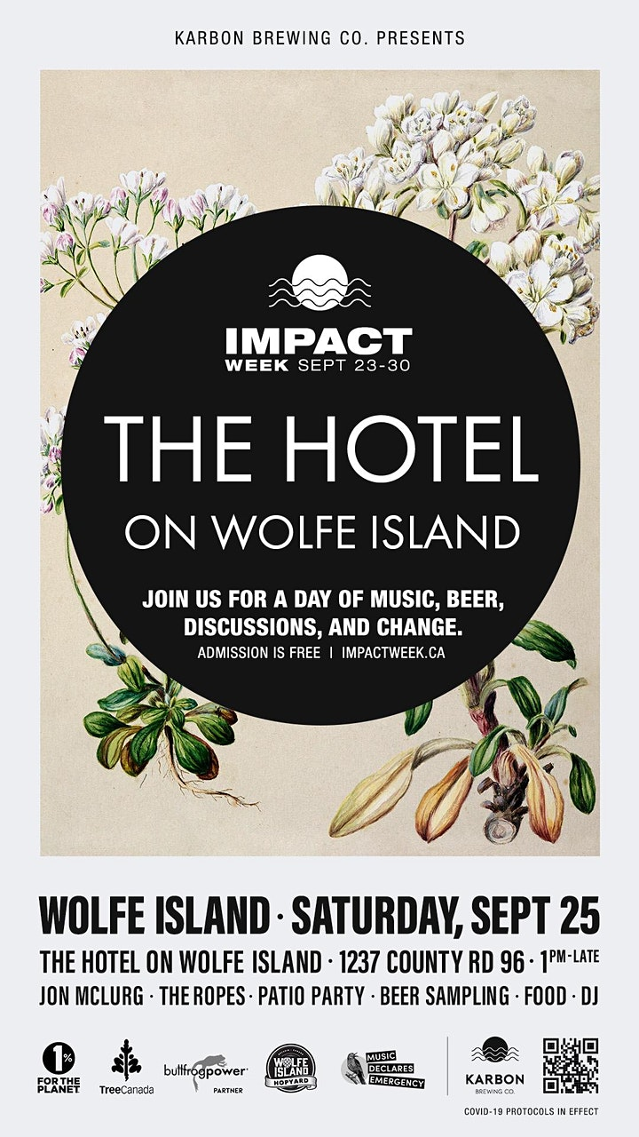 THE HOTEL ON WOLFE - PATIO PARTY - SATURDAY, SEPT 25TH - 1:00PM image
