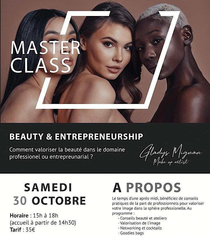 Image pour Masterclass - Beauty & Entrepreneurship