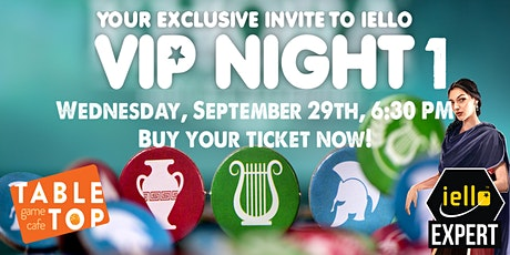 Join us as we kick off ORIGINS 2021 with a IELLO VIP night #1! tickets