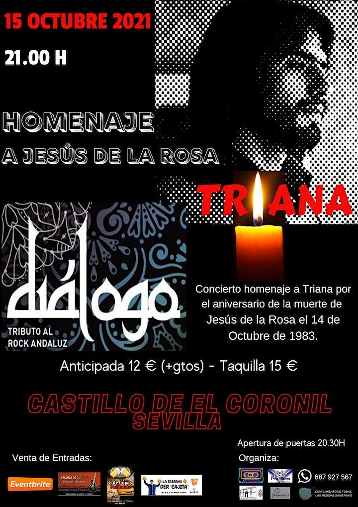 Imagen de DIALOGO ROCK ANDALUZ. HOMENAJE A TRIANA EN EL CASTILLO DE EL CORONIL.
