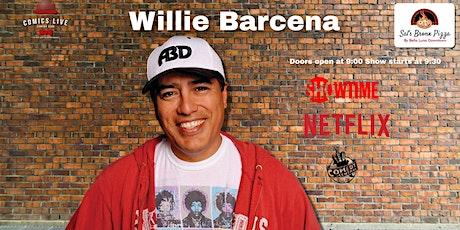 Willie Barcena at Comics Live! tickets