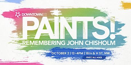 DowntownDC Paints! Remembering John Chisholm tickets