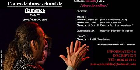 Cours de danse flamenco billets