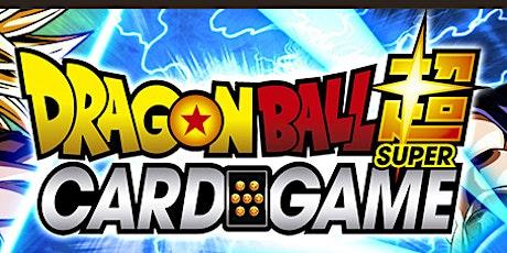 Dragon Ball Super Unison Warrior Set 6 Saiyan Showdown Prerelease tickets