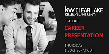 Career Presentation tickets